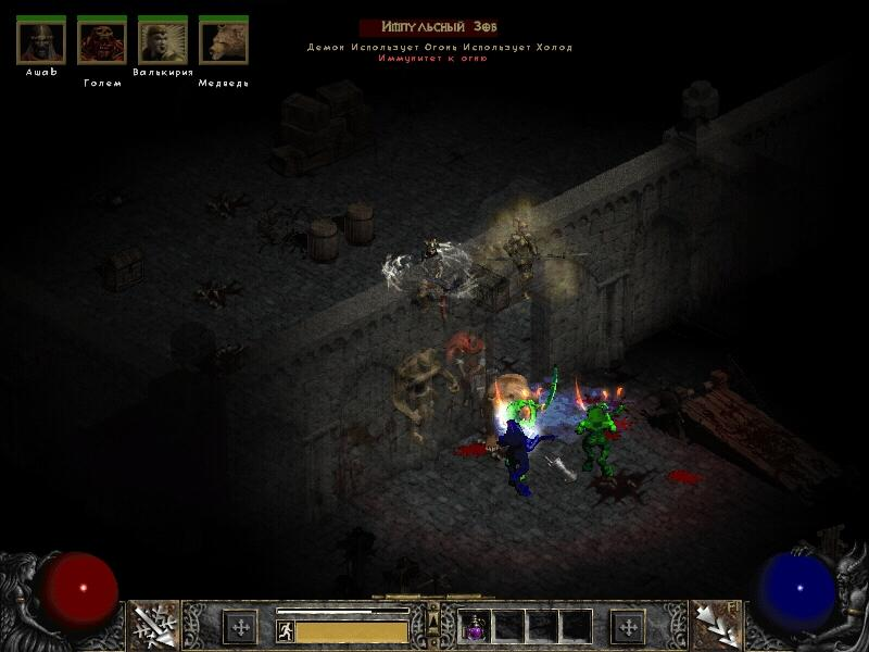 Diablo 2 Zy-El Mod Version 4.4c ex torrents 4c) MrSanta, 30.